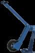 SCHEPPACH Fahrvorrichtung für Holzspalter (3 Punkt mit Stützrad)